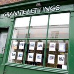 Granite Lettings Shop Front on Port Street